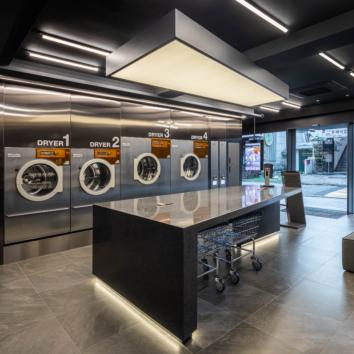 밀레 '어반런드렛' 청담점에 상업용 세탁 장비 공급
